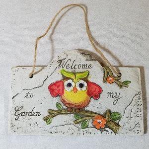 💥7/$25 Owl Plaque